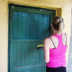 painting, cleaning, sanding, repairing - our volunteers worked hard