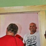Ken and Wayne reinforce the doorways at Kality Education Support Center in Addis Ababa