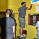 Painting at Kersa Education Support Center
